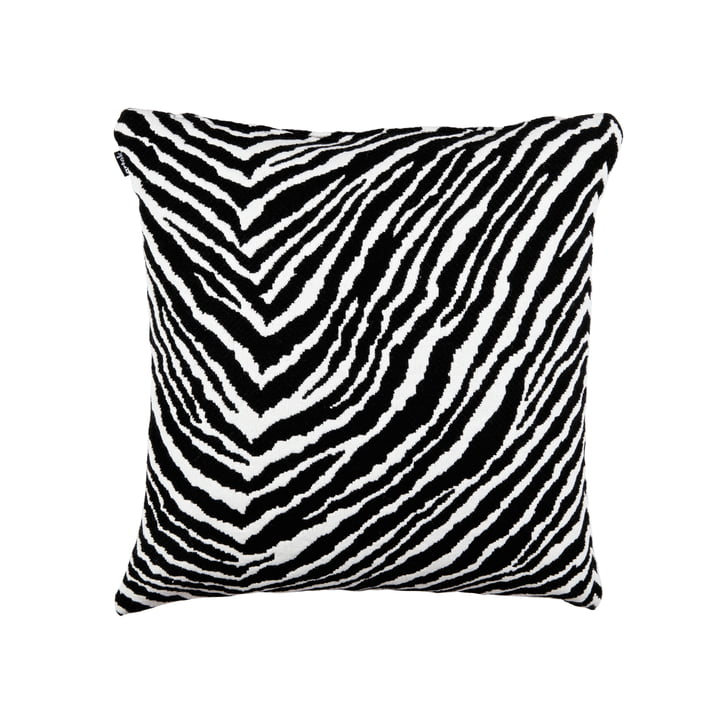 Zebra Kissenbezug 50 x 50 cm von Artek in schwarz / weiß