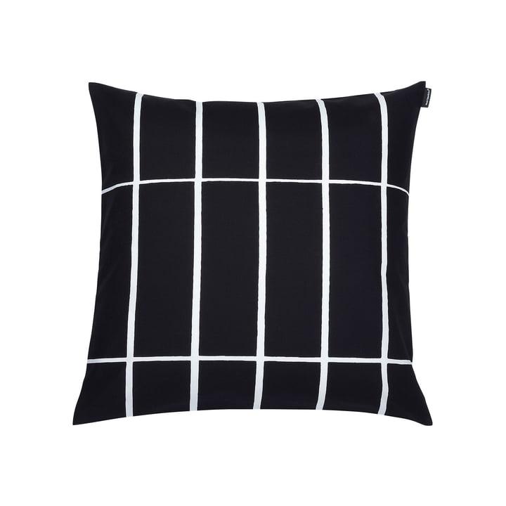 Der Marimekko - Tiiliskivi Kissenbezug 50 x 50 cm, schwarz / weiß