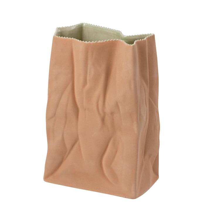Die Tütenvase von Rosenthal, 28 cm, hellbraun
