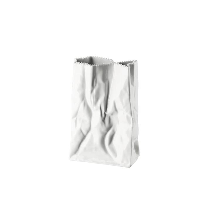 Die Tütenvase von Rosenthal, 18 cm, weiß glasiert