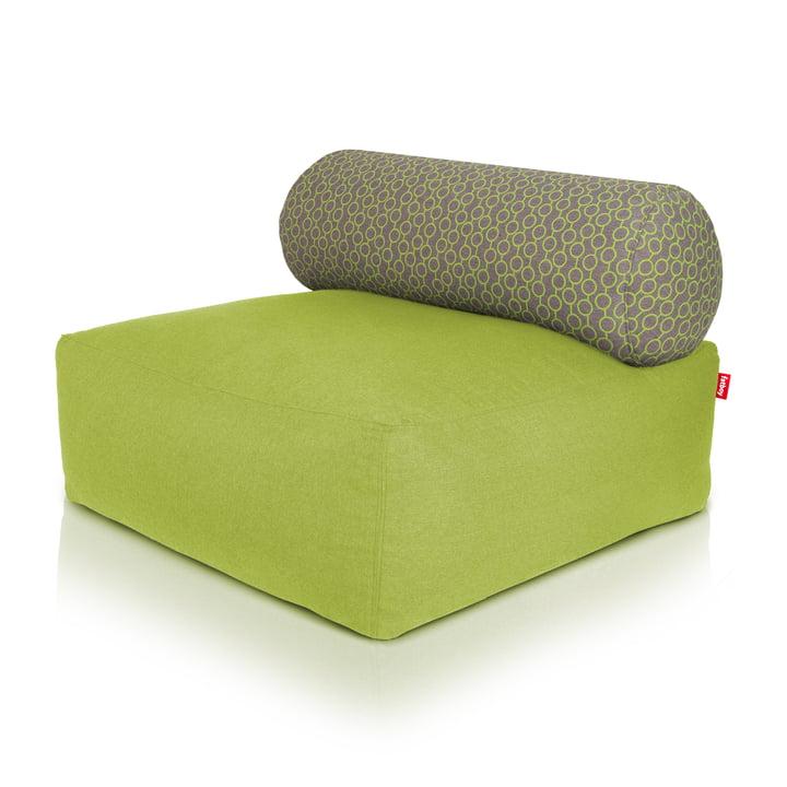 Fatboy - Tsjonge Sitzsack, grün, hellgrau / gruene Kreise