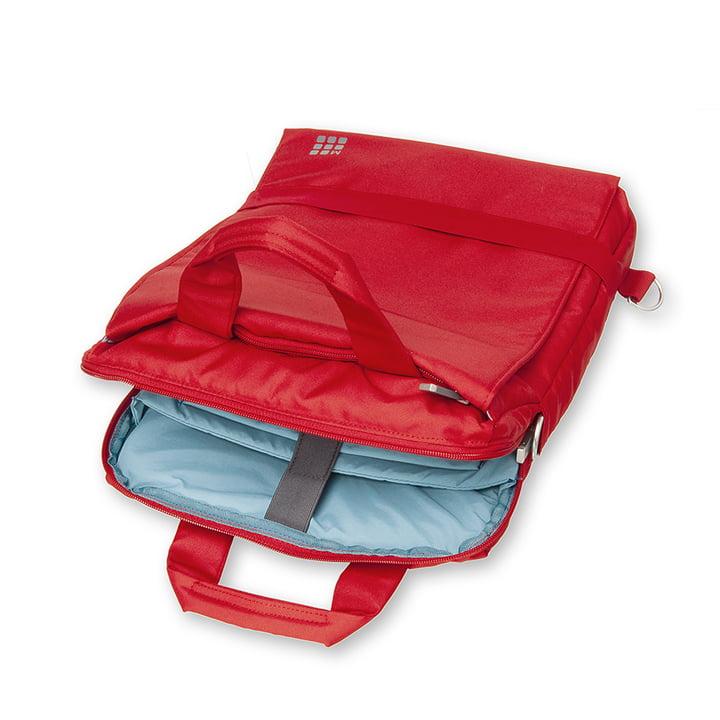 Moleskine - Vertikale Geräte-Tasche, scharlachrot