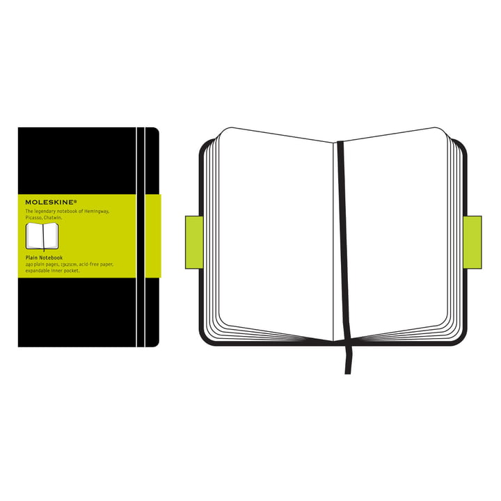Moleskine - blanko Notizbuch Large, Hardcover