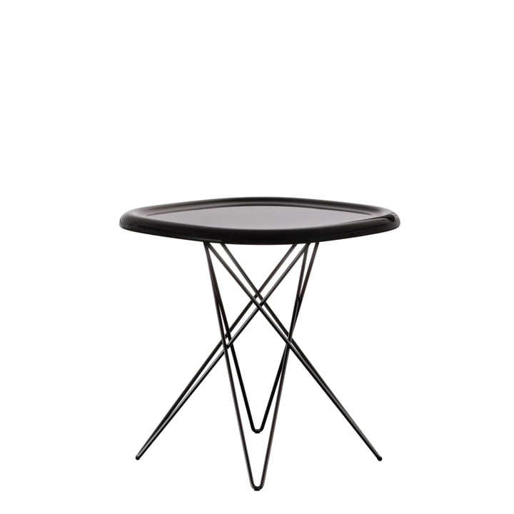 Magis - Pizza Tisch H 45 cm, dunkelbraun
