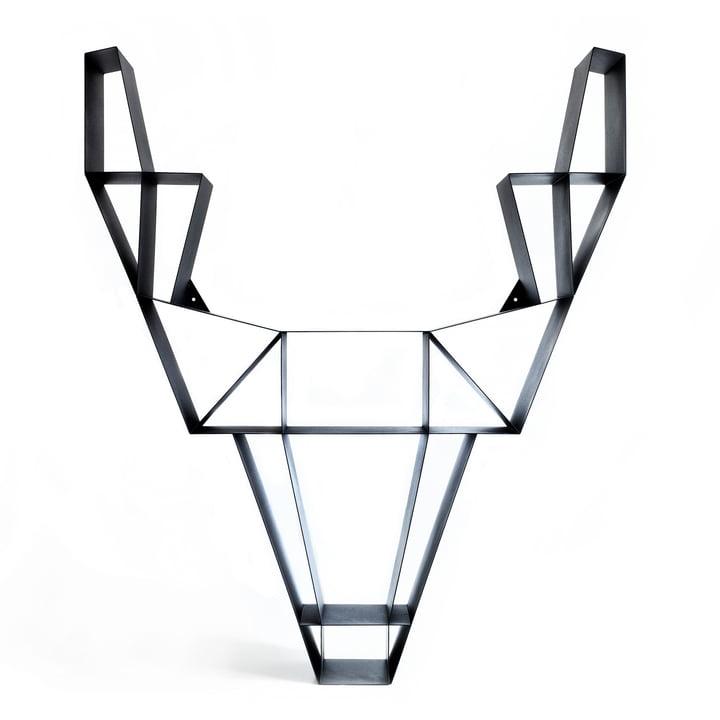 BeDesign - Deer Metall groß, schwarz