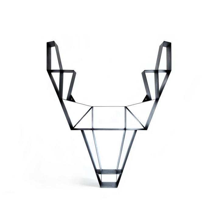 BeDesign - Deer Metall klein, schwarz