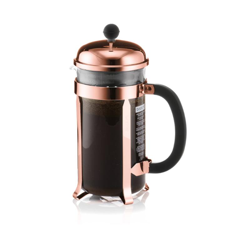 Bodum - Chambord Kaffeebereiter 1.0 l, Kupfer