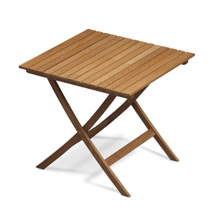 Selandia Tisch 75 x 75 cm von Skagerak in Teak