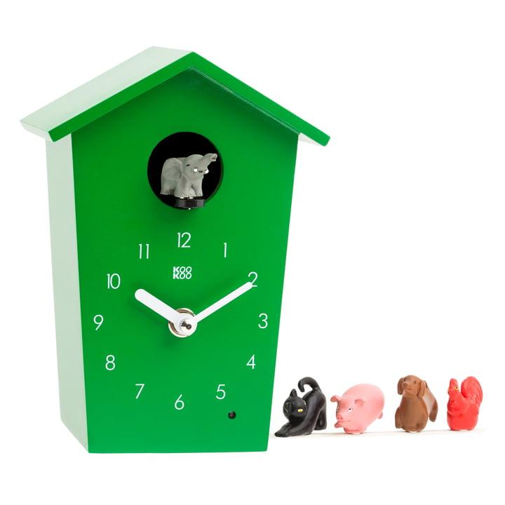 KooKoo - Animal House, grün