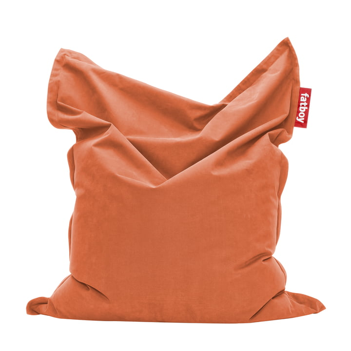 Original Sitzsack Stonewashed von Fatboy in Orange