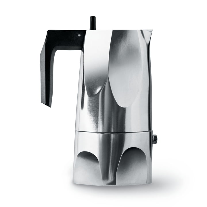Alessi - MT18/3 Ossidiana Espressomaschine