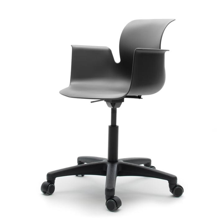 Flötotto - Pro 6 Armchair Drehstuhl, Polyamid / graphite