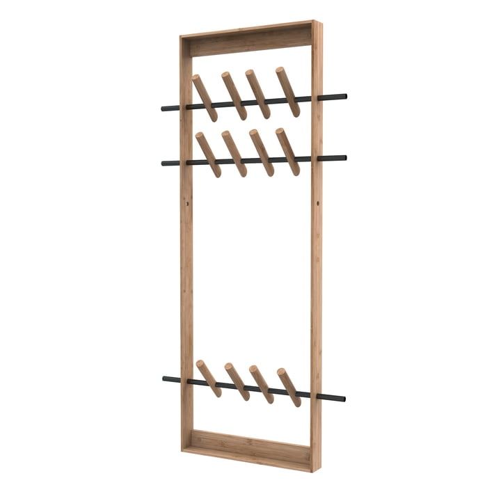 Coat Frame von We Do Wood in Bambus natur / Stahl