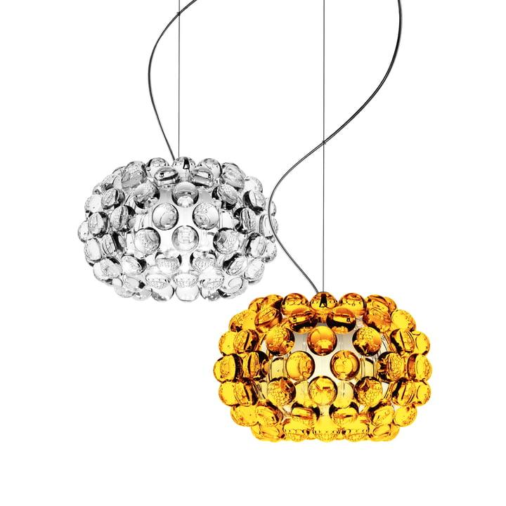 Foscarini - Caboche Pendelleuchte, transparent, goldgelb