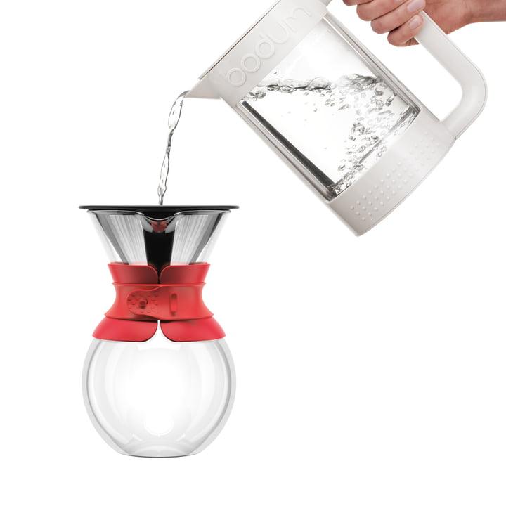 Pour Over Kaffeebereiter mit Permanentfilter von Bodum
