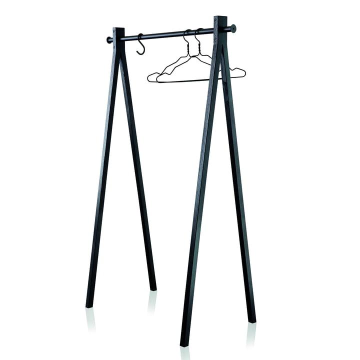 Nomess - Dress-Up Garderobenständer, schwarz / schwarz, 90cm