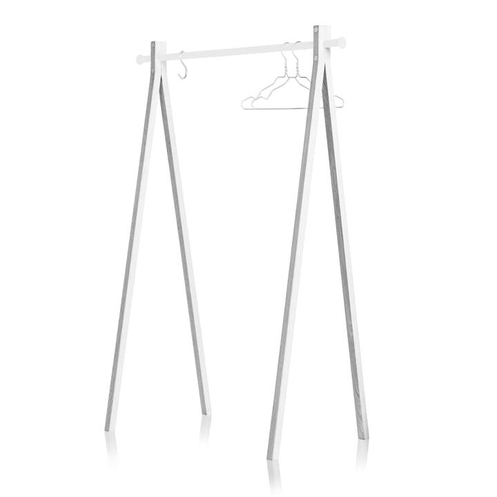 Nomess - Dress-Up Garderobenständer, weiß / weiß, 120cm