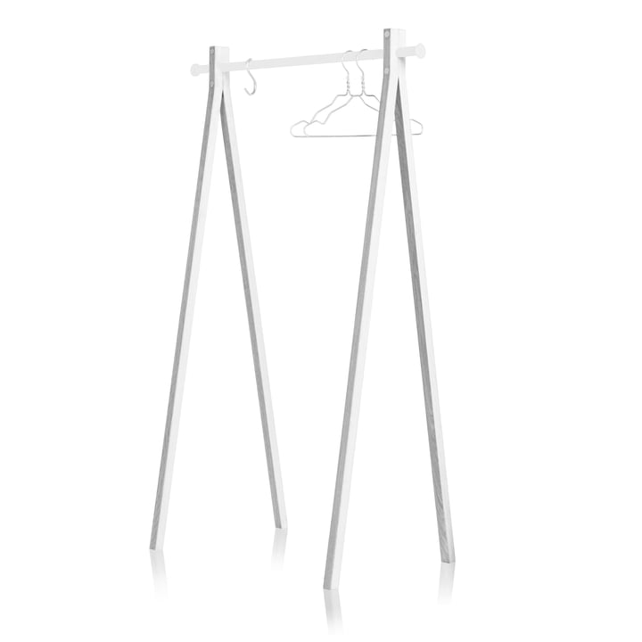 Nomess - Dress-Up Garderobenständer, weiß / weiß, 90 cm