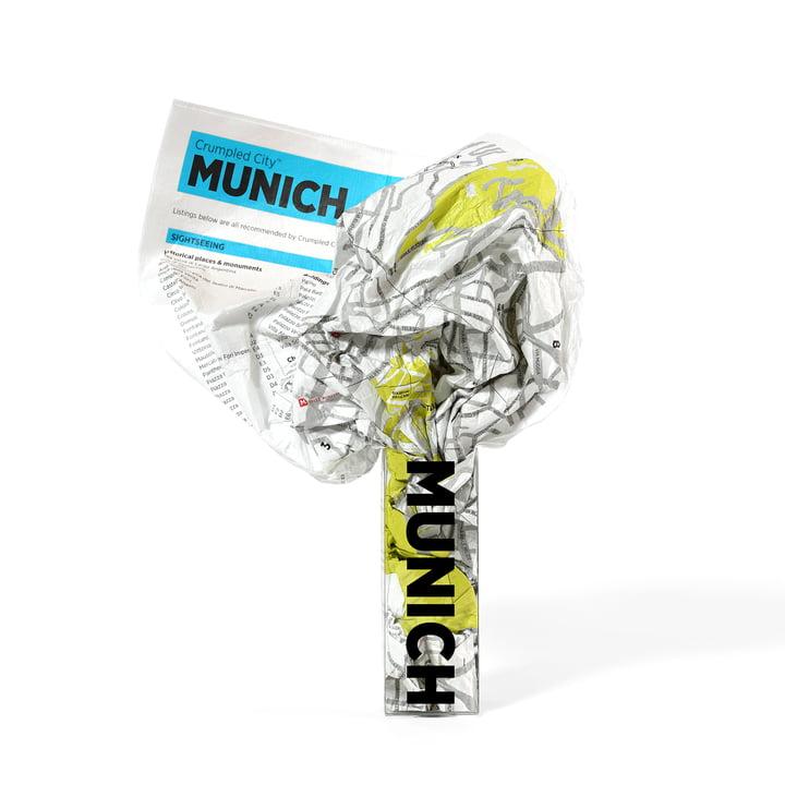 Palomar - Crumpled City Map - München