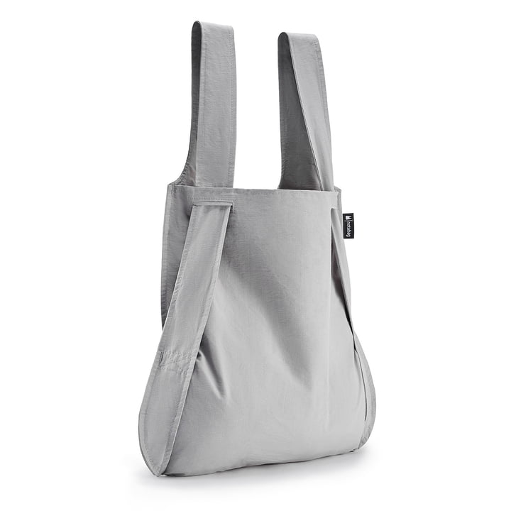 Notabag - Tasche und Rucksack, grau