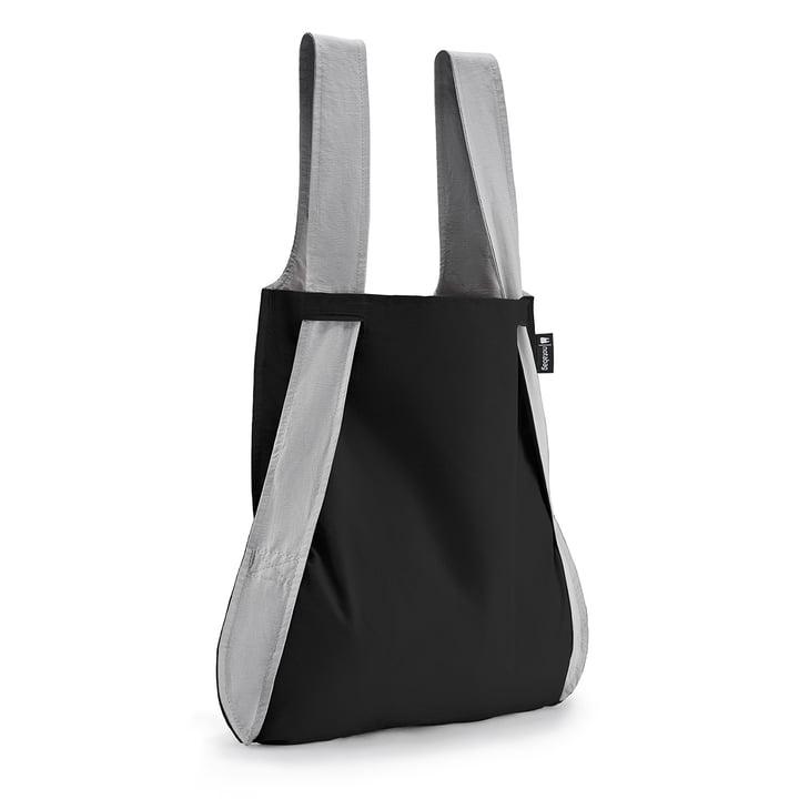 Notabag - Tasche und Rucksack, grau / black