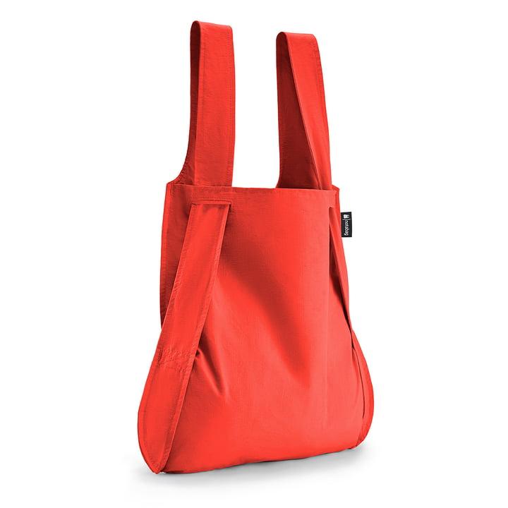 Notabag - Tasche und Rucksack, rot