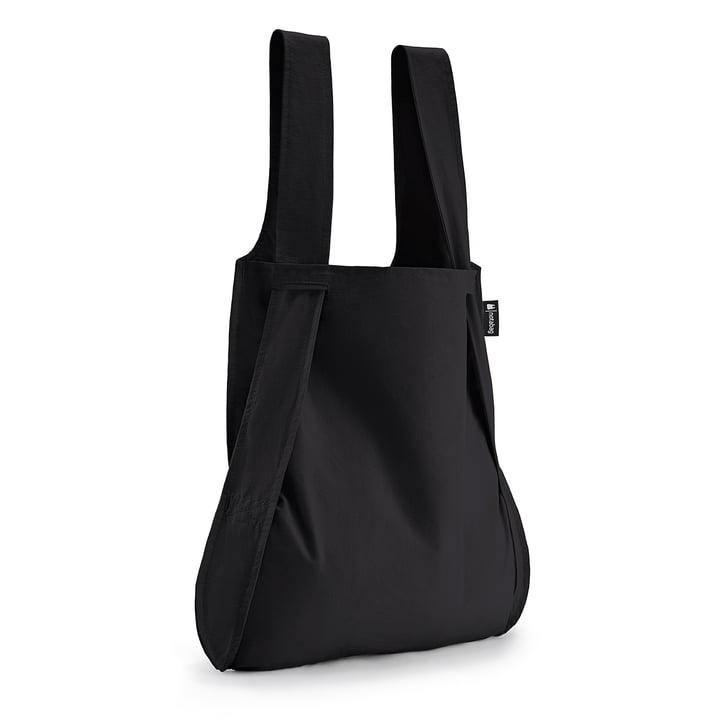 Tasche und Rucksack von Notabag in schwarz