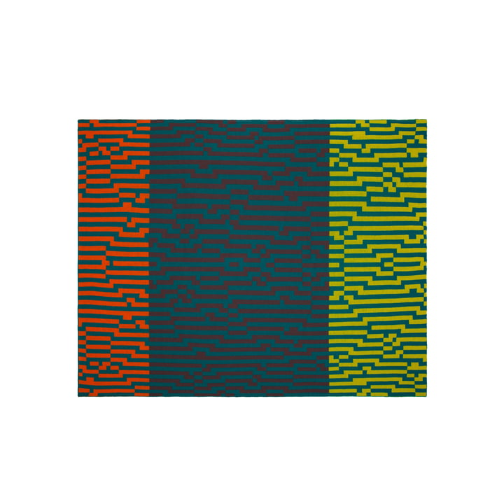 Zuzunaga - Zoom Out 2 Wolldecke, 140 × 180 cm