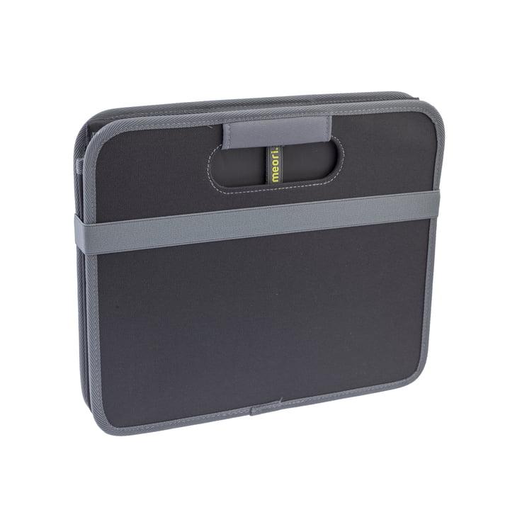 meori - Klassiker Faltbox 30 Liter, Lava Schwarz Uni