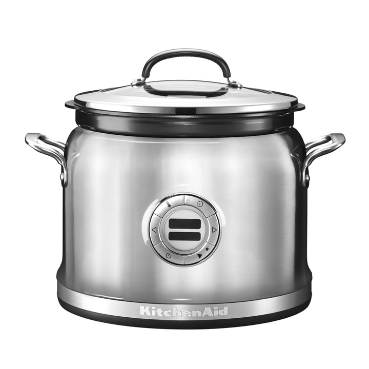 KitchenAid - Multi Cooker, metallic silber