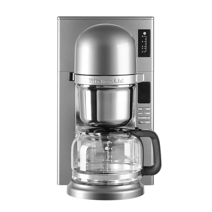 KitchenAid - Kaffeemaschine KitchenAid, contur silber