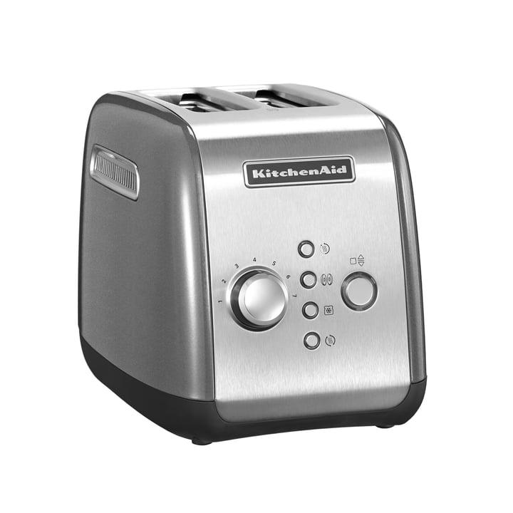 KitchenAid - Toaster KMT221, 2 Scheiben, kontur-silber