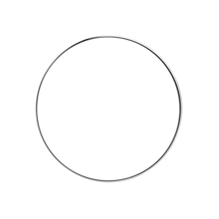 Flos - Deko-Ring zur Clara Wand- und Deckenleuchte, chrom