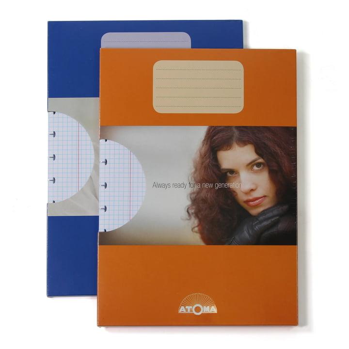 Atoma - Nachfüllpack Basic A4 kariert, Duo mit Verpackung