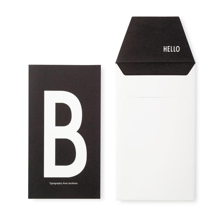 Design Letters - AJ Postkarte B