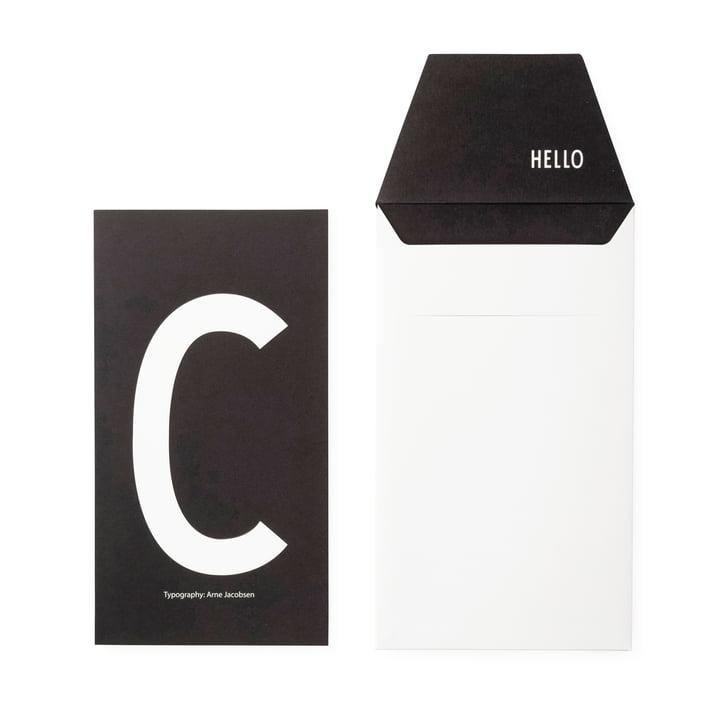 Design Letters - AJ Postkarte C