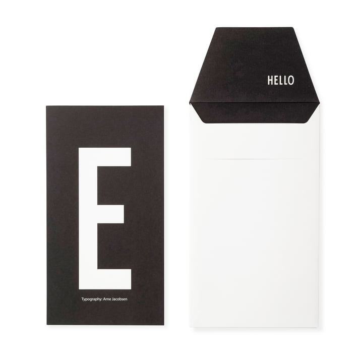 Design Letters - AJ Postkarte E
