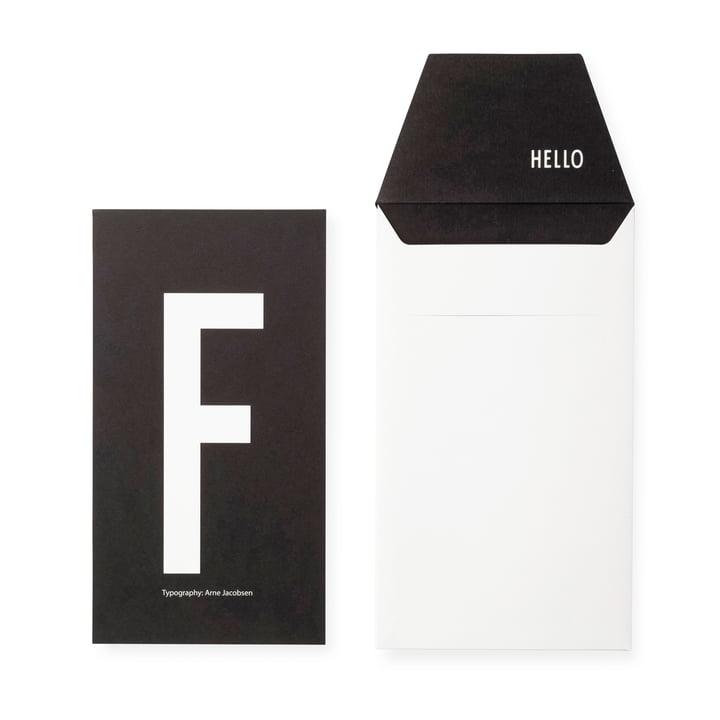 Design Letters - AJ Postkarte F