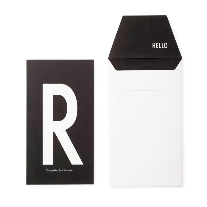 Design Letters - AJ Postkarte R
