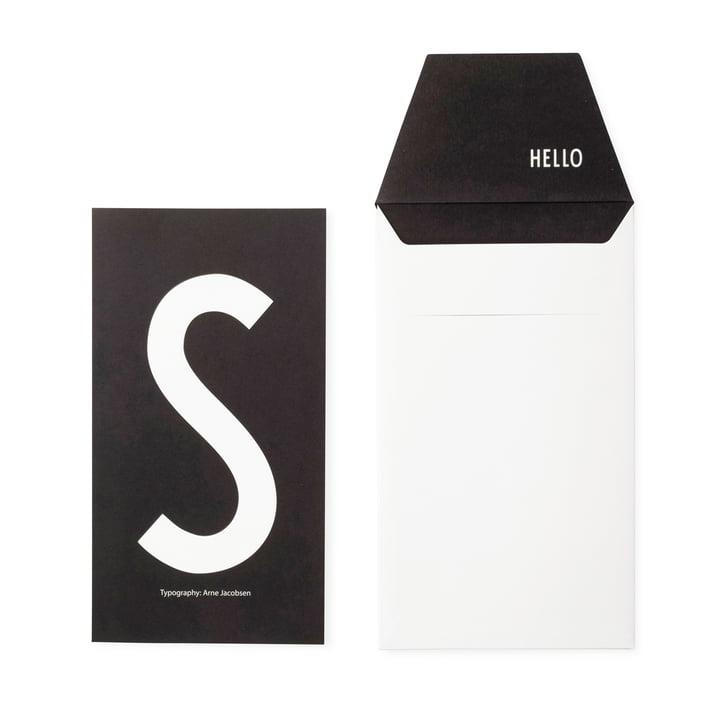 Design Letters - AJ Postkarte S