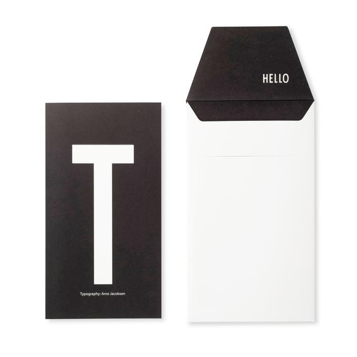 Design Letters - AJ Postkarte T