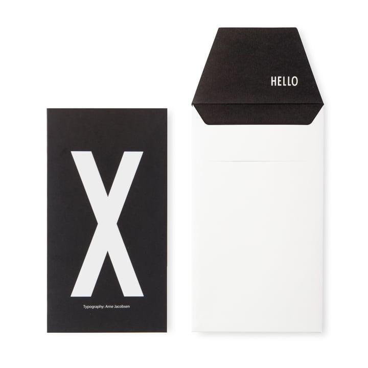 Design Letters - AJ Postkarte X