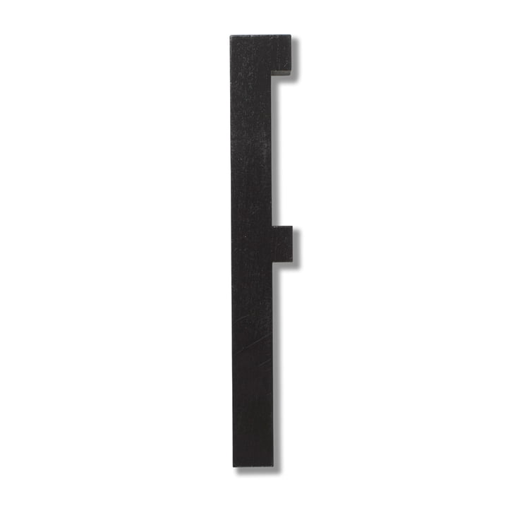 Wooden Letters Indoor F von Design Letters in Schwarz