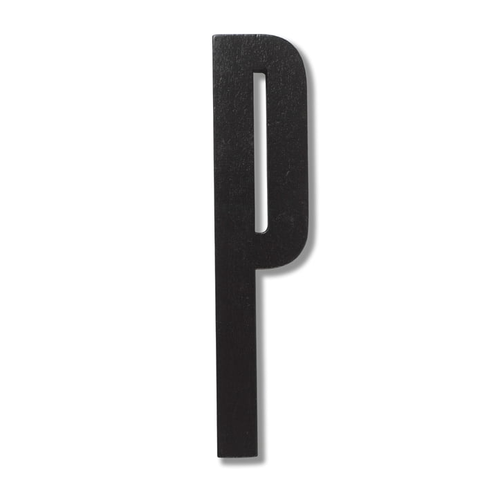Wooden Letters Indoor P von Design Letters in Schwarz