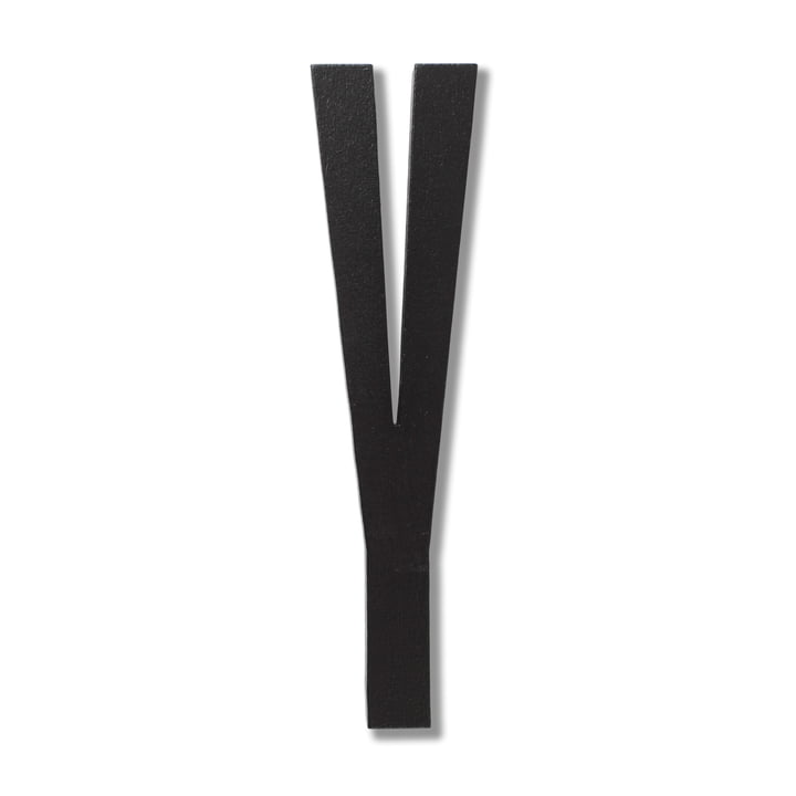 Wooden Letters Indoor Y von Design Letters in Schwarz