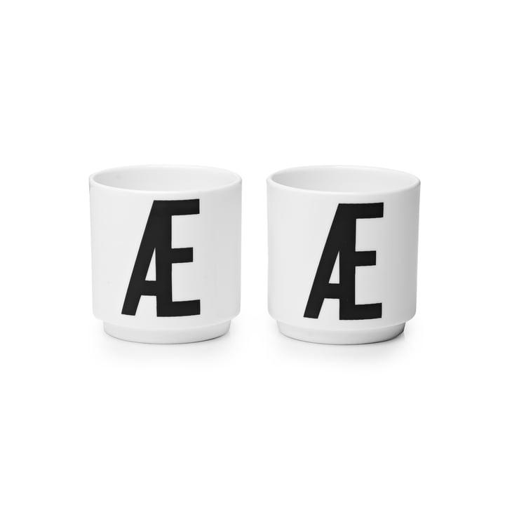 Design Letters - Porzellan Eierbecher Æ (2er-Set)
