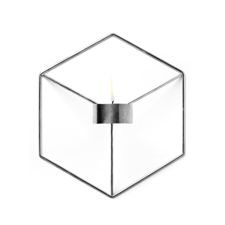 Menu - POV Wand-Teelichthalter, chrom