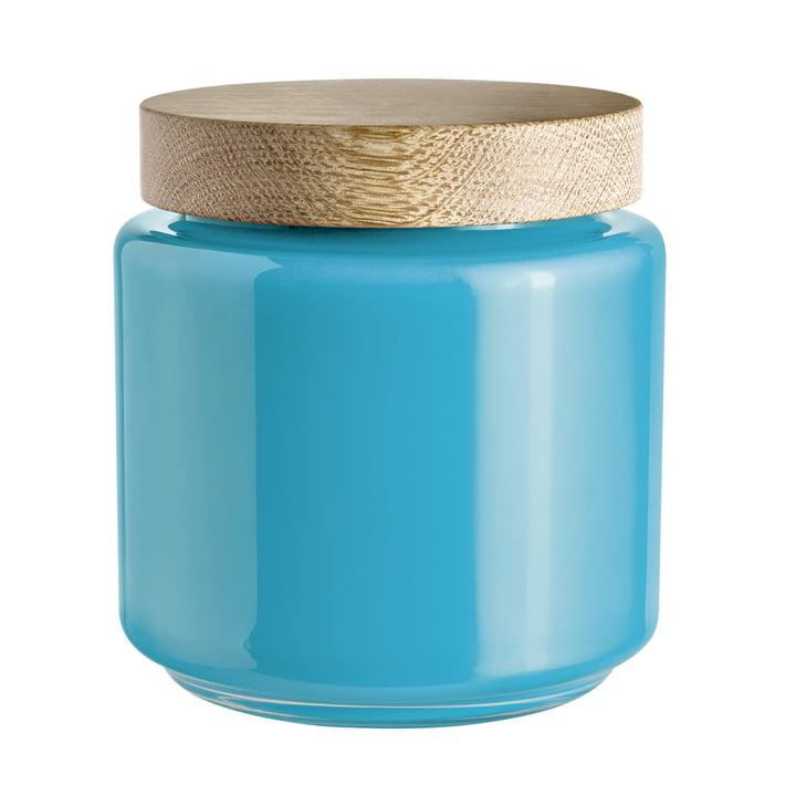 Holmegaard - Palet Aufbewahrungsglas, blau, 2,0 l