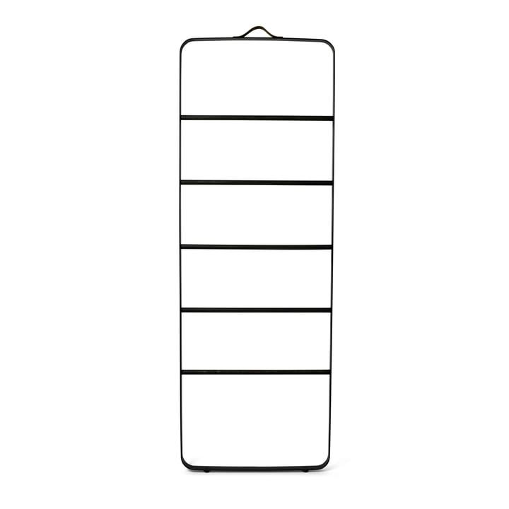 Towel Ladder von Menu in Eiche dunkel / schwarz