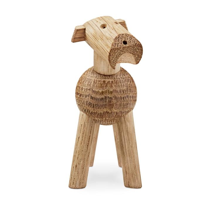 Kay Bojesen - Hund Tim in hellem Holz
